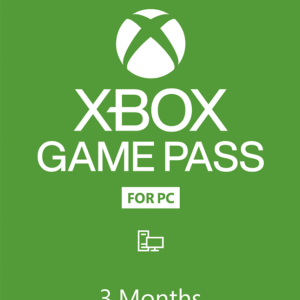 Xbox GP for PC 3 Months